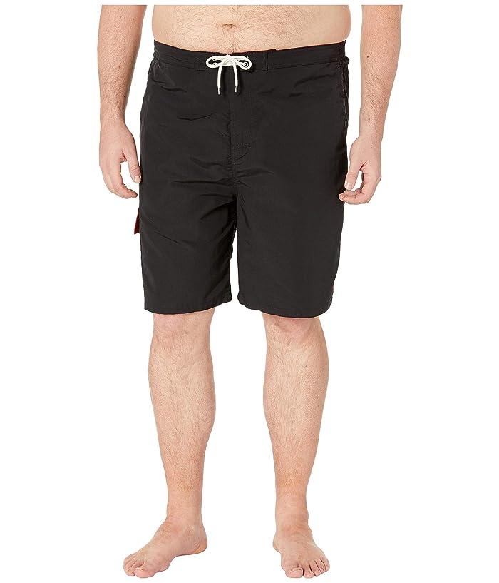 Polo Ralph Lauren Big & Tall Big and Tall Nylon Kailua Swim Trunks (Polo Black) Men