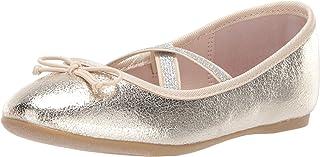 حذاء zavana للبنات من Nina ، Platino crackle ، 4 مقاس متوسط أمريكي طفل كبير