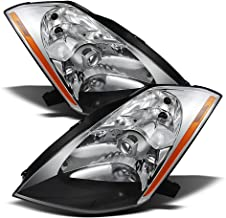 ACANII - For Pair HID Xenon Headlamps 2003 2004 2005 Nissan 350Z Projector Headlights Driver + Passenger Side