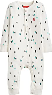 Baby Boy's Printed Waffle Footie (Infant) Cream Teeny Trees 18-24 Months