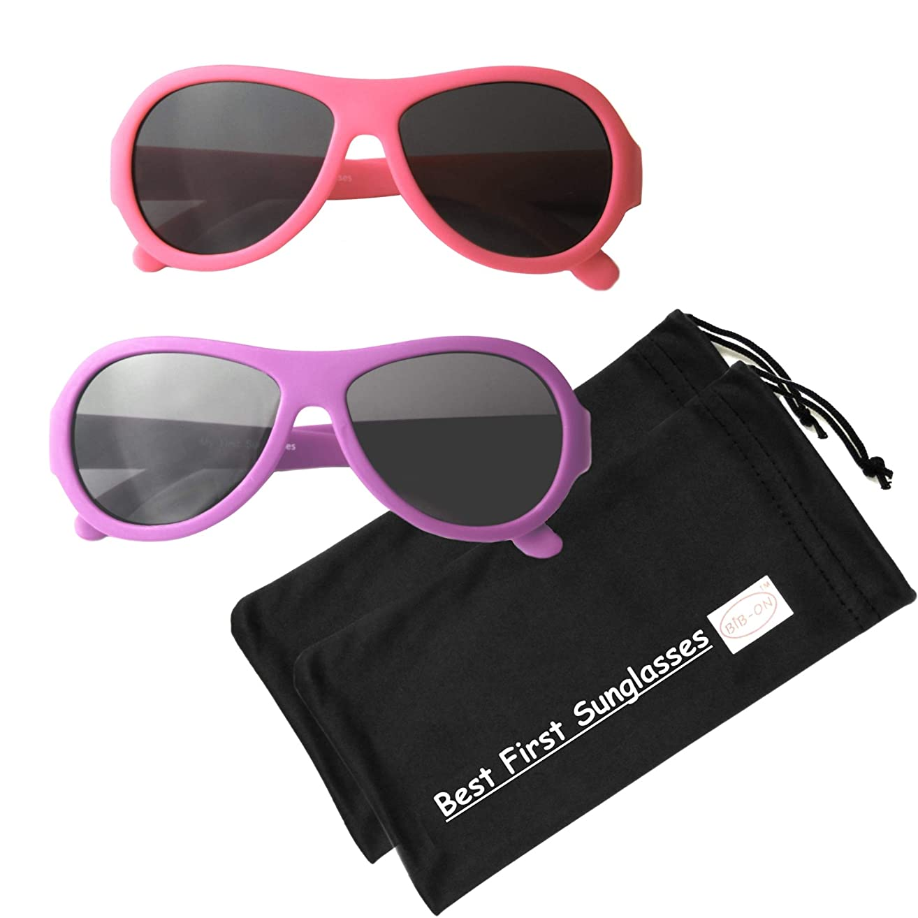 Top Flyers- Best First Sunglasses for Infant, Baby, Toddler, and Kids. 100% UV Protection. Many Colors and Sizes.