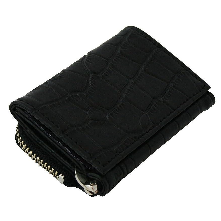 協力するレキシコンおいしい[United HOMME ユナイテッドオム]   かっこいい大人のマネークリップ付 財布 (UHP-585K) (黒 クロコ型押し)