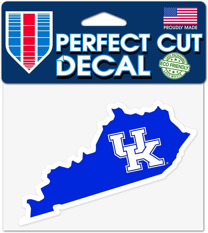 Kentucky Wildcats 10cm x 13cm Perfect Cut State Decal