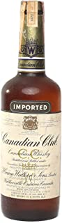 Canadian Club Whisky 1973 year on tax strip