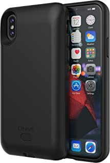 iPhone X/XS Battery Case, Crave PWR Case 3000mAh, Qi Wireless Charging BatteryCase for iPhone X, iPhone Xs