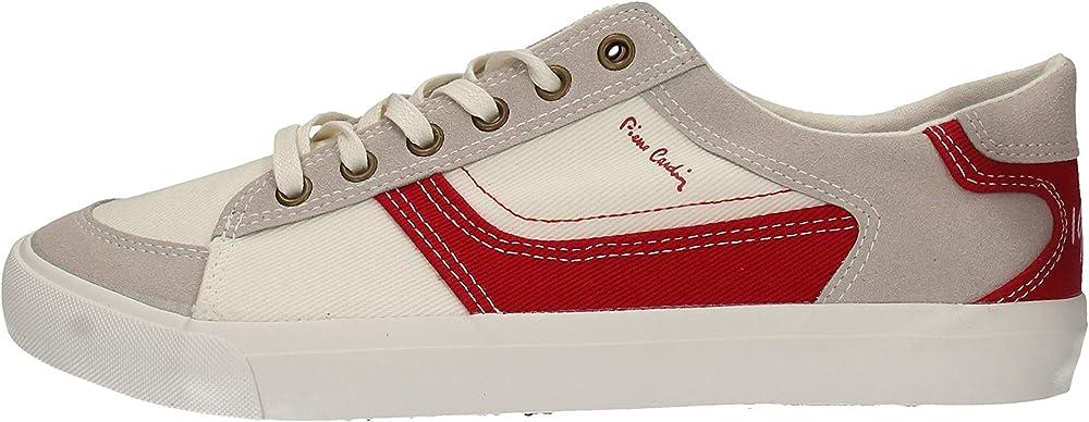 Pierre cardin,scarpe sneakers per uomo,in tela PC618