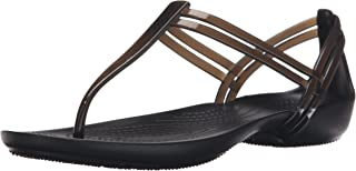 crocs Women's Isabella T-Strap Fashion Sandals
