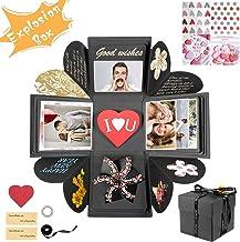 TECHSHARE Explosions Box Geschenke Zum Valentinstag Explosions Box DIY Faltendes Fotoalbum DIY Geschenk Scrapbook und Foto-Album