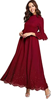 Best belted maxi dress with sleeves Reviews