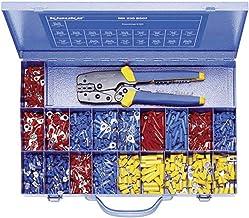 Klauke MK230B507 - Juego de Conectores de prensado (0,50 mm2, 6 mm2, 8 Unidades), Color Rojo, Azul y Amarillo