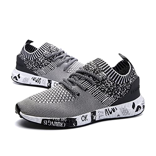 1ed225cc33b194 gracosy Mens Running Shoes Lightweight Trainers Gym Walking Fitness Running  Sneakers Sports Shoes Outdoor Athletic Casual