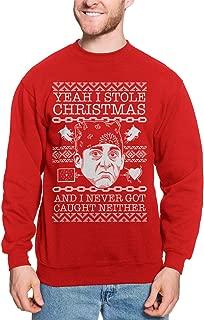 Yeah I Stole Christmas and I Never Got Caught Unisex Crewneck Sweatshirt
