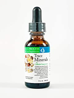 Trace Minerals in Colloidal Suspension (2 Pack) Organic & Plant Based Fulvic Minerals, Trace Elements & Amino Acids for En...