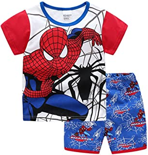 95c709314 Amazon.com  Spider-Man - Pajama Sets   Sleepwear   Robes  Clothing ...
