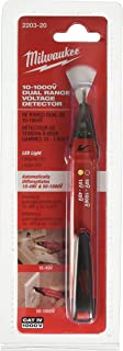 Milwaukee 2203-20 10-1000V Dual Range Voltage Detector