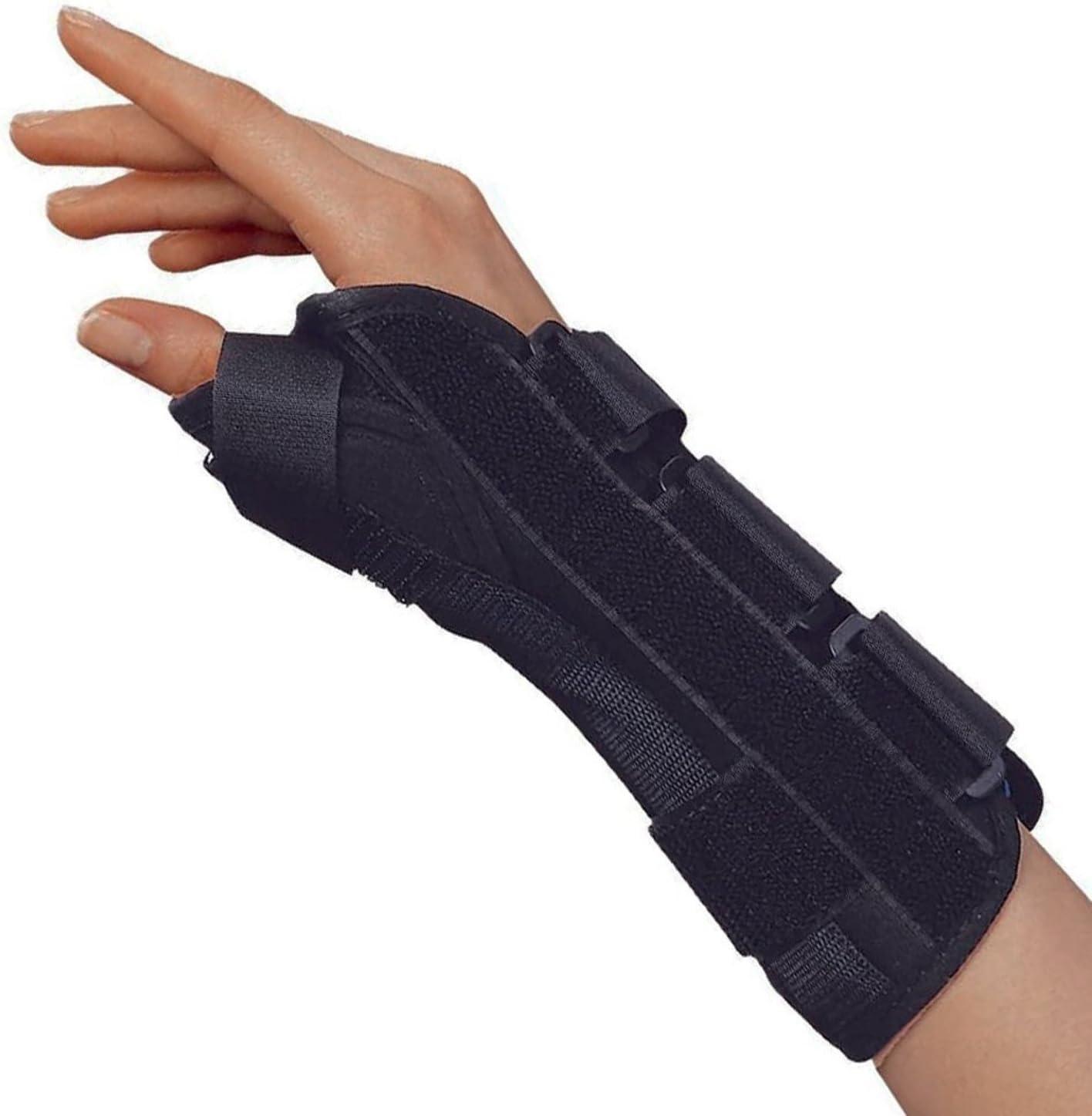 OTC Wrist-Thumb Splint 8-Inch Adult Me Lightweight Seattle Mall Direct store Breathable