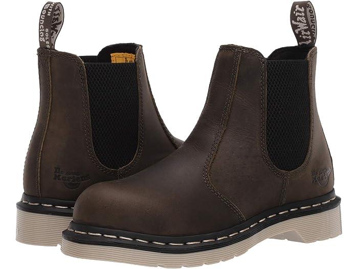 Dr Martens Work Arbor Steel Toe Chelsea Boot Zappos Com