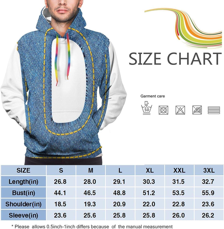 Men's Hoodies Sweatshirts,Retro Fashion Vibes Inspired Typography Design with Capital D Language Alphabet