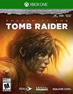 Shadow of the Tomb Raider (Croft Steelbook Edition) - Xbox One - PlayStation 4