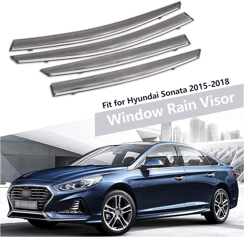 MYDH Window Visor Deflectors for Hyundai Sonata 2 2015 Limited time cheap sale 2016 2017 Year-end gift