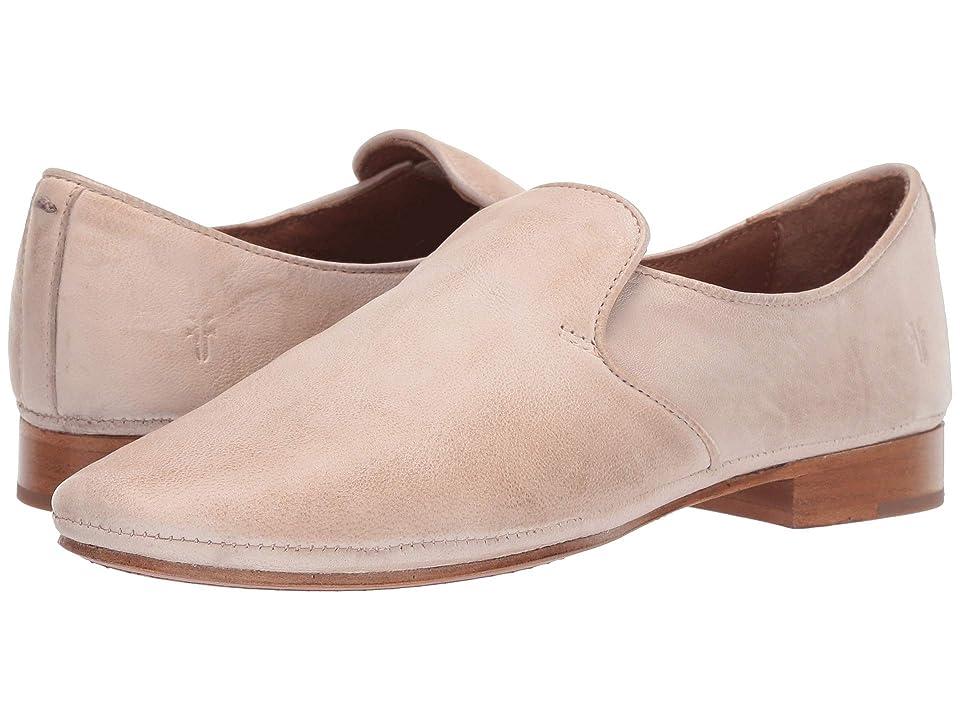 6a5a40e187399 Frye Ashley Slip-On (Cream) Women s Slip on Shoes