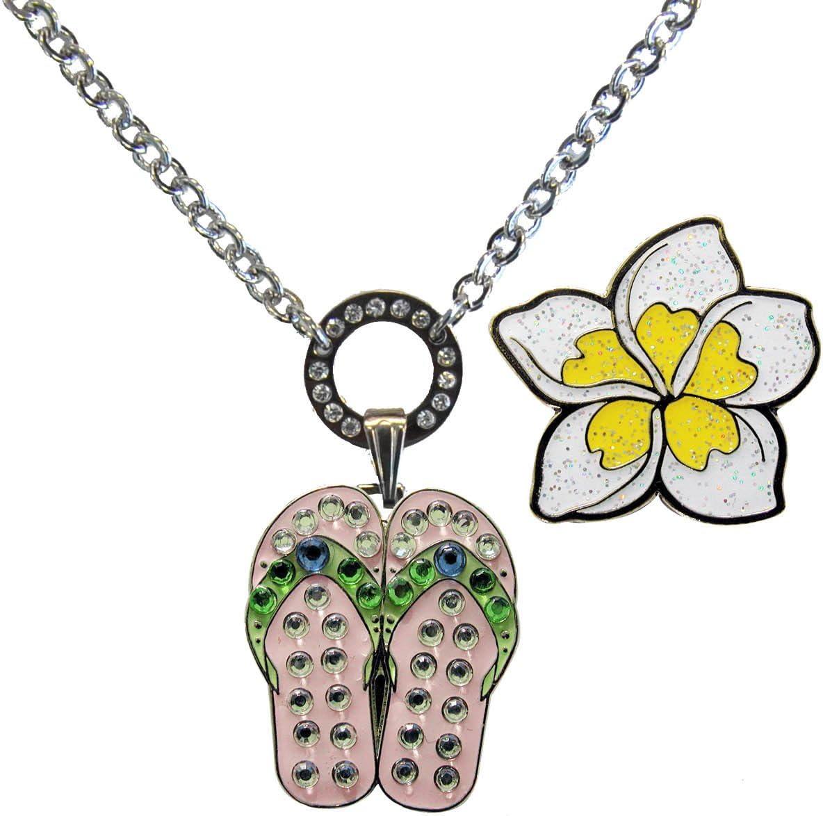 Navika Price reduction Magnetic Ball Marker Necklace Flops Adorne Flip [Alternative dealer] with Pink