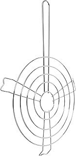 IMUSA USA IMU-6000800 Arepa Grill 9.5-Inch, Silver