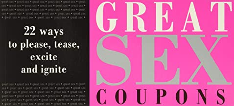 Great Sex Coupons: Add Some Fun to the Bedroom (Bachelorette or Bridal Shower Gifts for Brides, Anniversary or Honeymoon G...