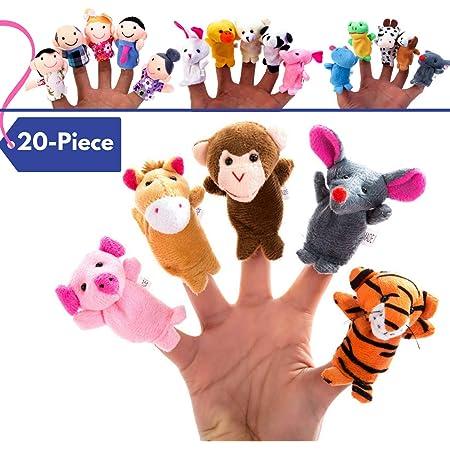 The Puppet Company Rimas de guarder/ía Juego de 6 Marionetas de Dedo