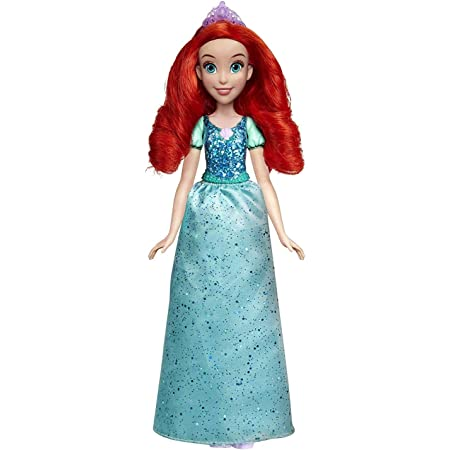 Disney Princess Royal Shimmer Ariel Fashion Doll with Skirt That Sparkles, Tiara and Shoes