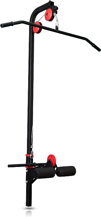 Lat pulldown per centrale elettrica a torre per panca pesi ms-w102 | made in eu lat machine marbo sport ?MS-W102