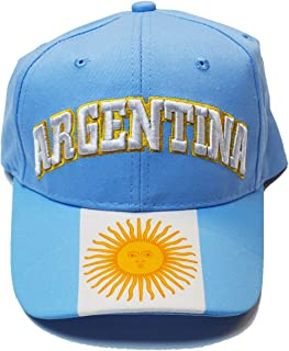 Argentina Cap Hat Any Sports Soccer World Cup Mens Adults