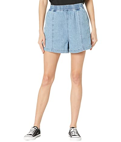 Madewell Denim Easy Pull-On Shorts in Rathmore Wash