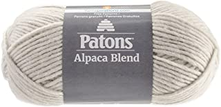 Patons  Alpaca Blend Yarn - (5) Bulky Gauge  - 3.5oz -  Birch -  Machine Washable  For Crochet, Knitting & Crafting