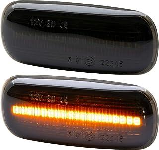 rm style LED SEITENBLINKER Smoke kompatibel für TT 8N | A8 4D | A2 8Z | A3 8L | A4 8D [7316 1]