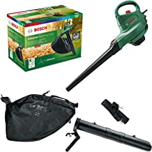 Bosch 06008B1071 Electric Leaf Blower and Vacuum UniversalGardenTidy 3000 (3000 W, collection bag 50 l, variable Speed, fo...