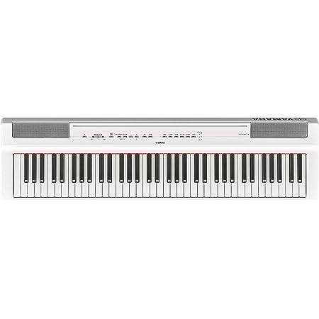 ヤマハ YAMAHA 電子ピアノ Pシリーズ 73鍵盤 ホワイト P-121WH