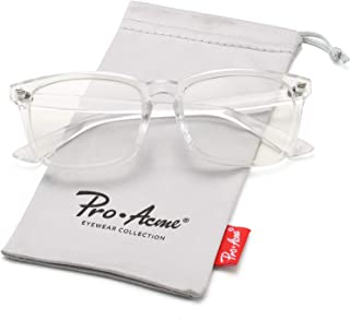 Pro Acme Non-prescription Glasses Frame Clear Lens...