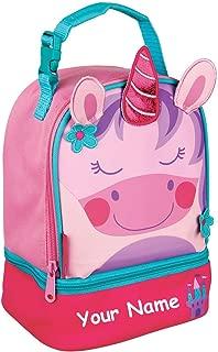 Stephen Joseph Personalized Unicorn Lunch Pals Lunch Box Bag