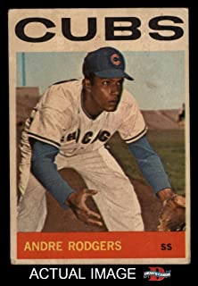 1964 Topps Venezuelan # 336 Andre Rodgers Chicago Cubs (Baseball Card) Dean's Cards 2 - GOOD Cubs