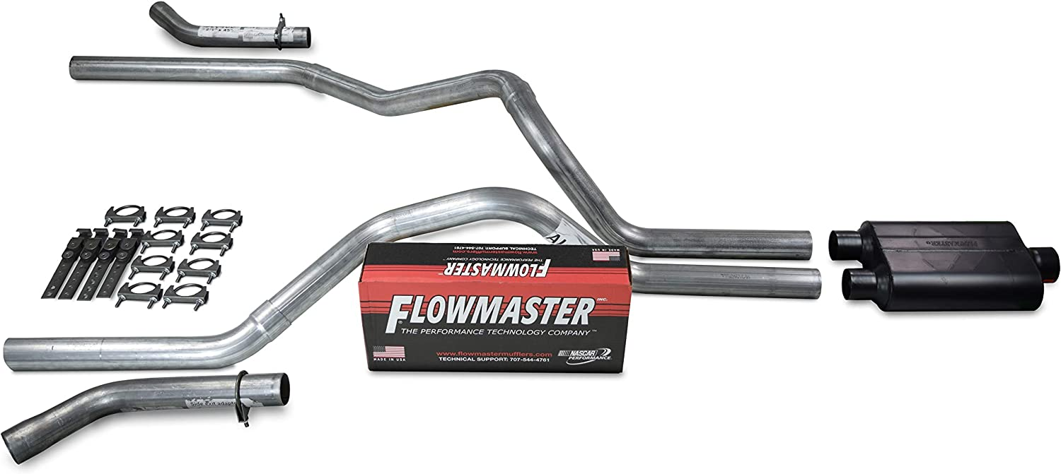 Truck Exhaust Kits - Shop Line dual exhaust system 2.5
