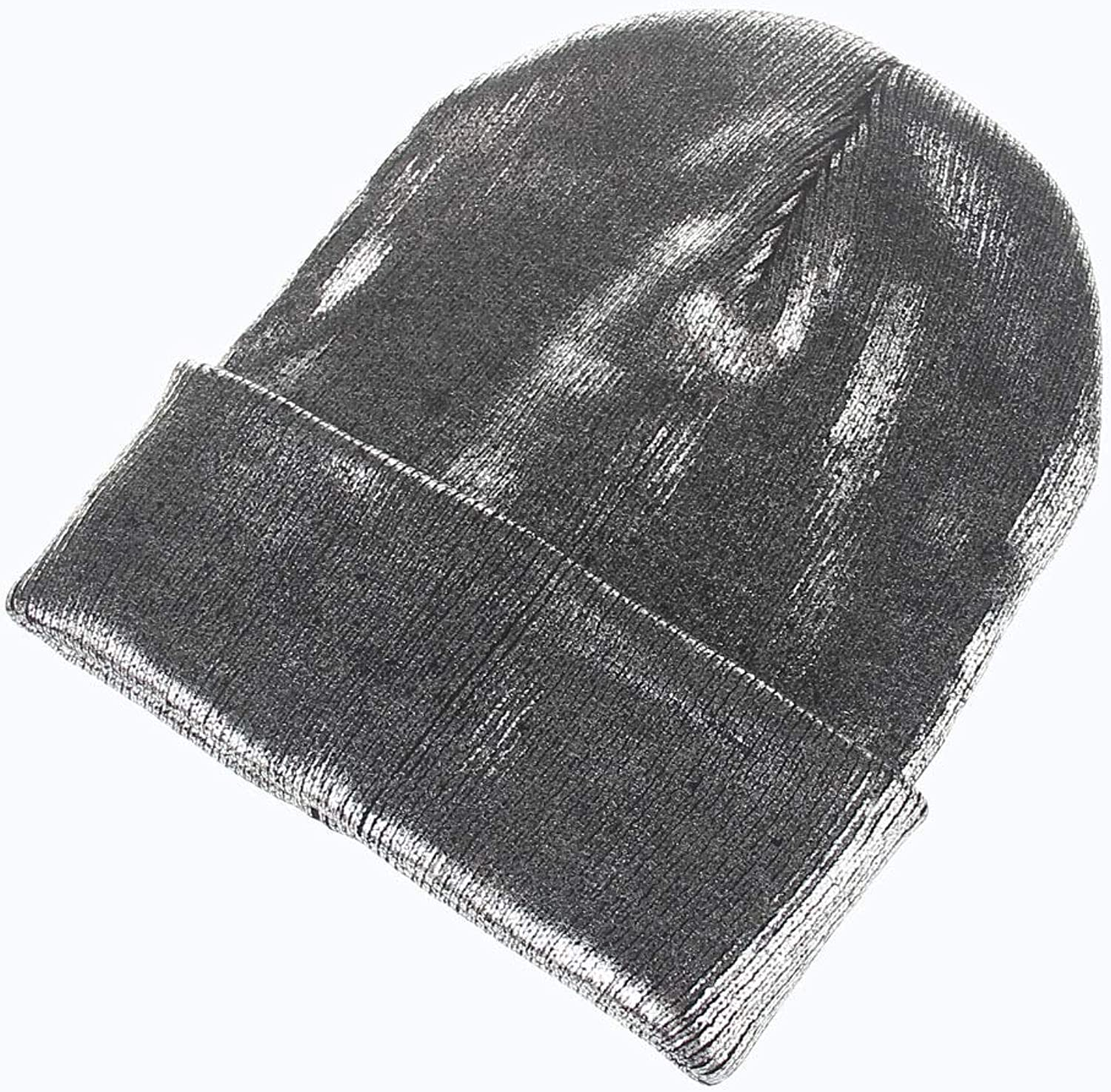 Sports Hat Men and Women Wool Knit hat hot Stamping Solid color Autumn and Winter Fashion Warm Earmuffs Adult hat (color   Silver) Outdoor Cap