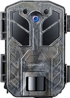 APEMAN Trail Camera 30MP 4K Hunting Camera 40PCs IR LEDs Game Camera for Crisp Night Shot..