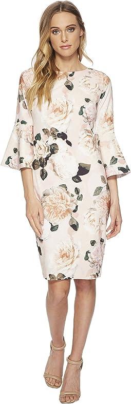 Calvin Klein - Floral Print Bell Sleeve CD8C733E