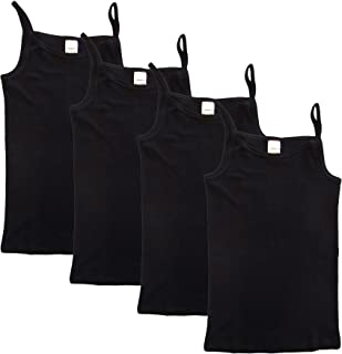 Ceguimos 3 Pack of Kids Girls Sleeveless Vest Top Undershirts Tank Tops Age 3-7 Years