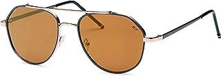 Modern Aviator Metal Unisex Sunglasses