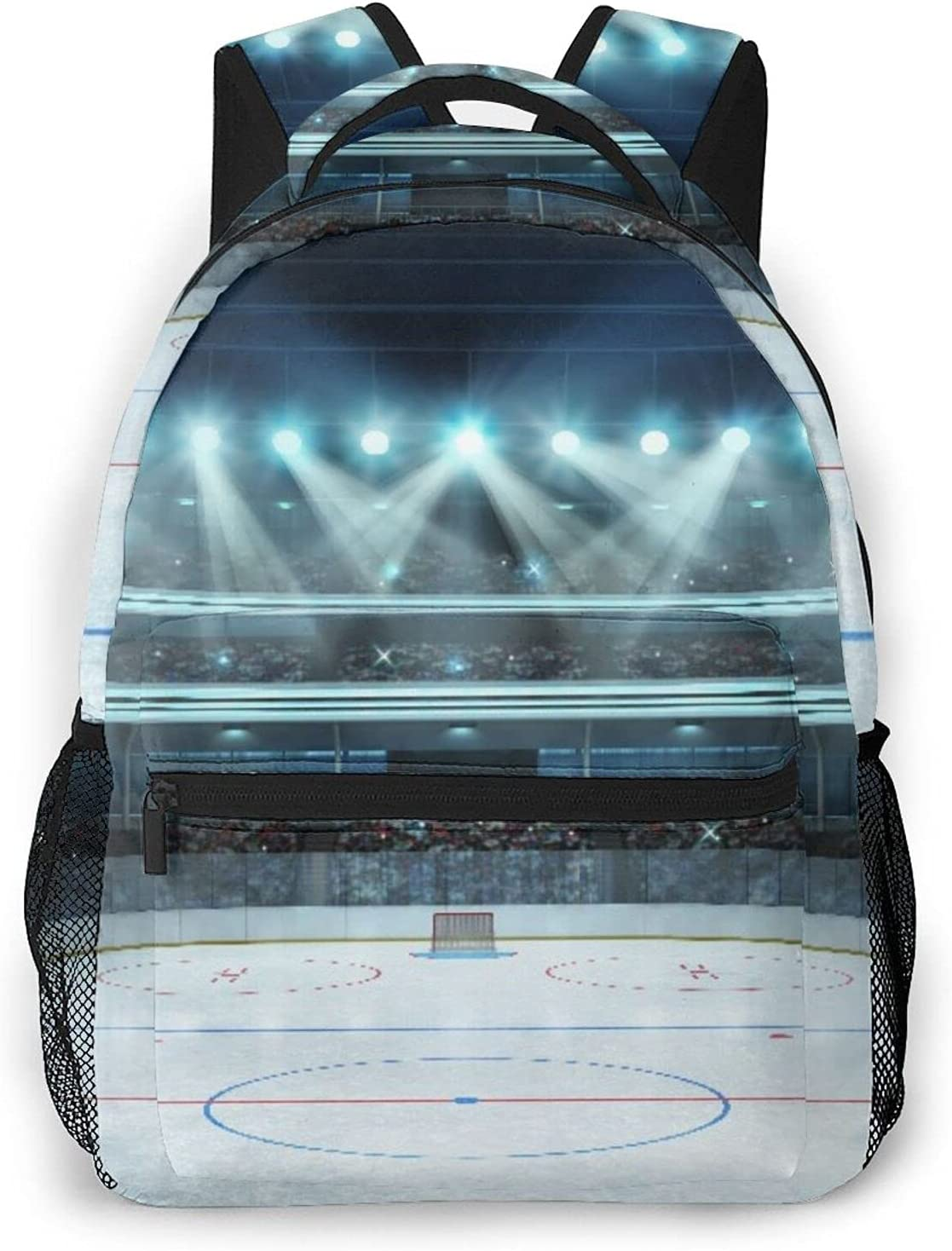 Casual Backpack,Hockey Photo shop Of A Peopleï Arena New product! New type Full Sports