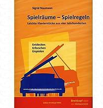 Spielraeume - Spielregeln - arrangiert für Klavier Noten/Sh