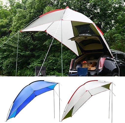Jaspenybow Tente de Campeur de Plein air portable Tente arrière de Voiture Tente latérale de Voiture Tentesun abri hayon Tente Tente de Camping d'été Tente d'auto-Tente Auto-Conduite Tour Barbecue