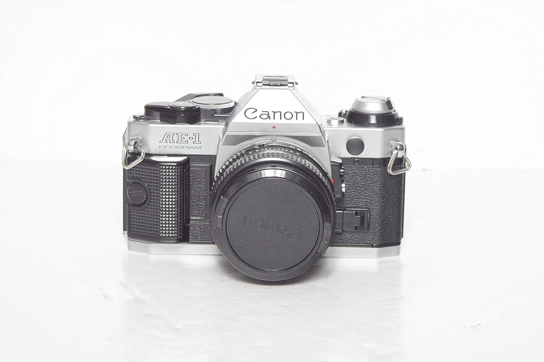 Canon Over item handling AE-1 Program 35mm Manual Focus - Max 46% OFF Film Camera Lens Flash